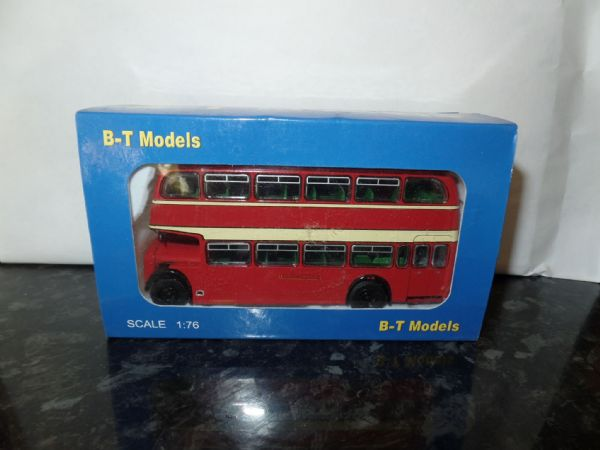 B T Models B113B 1/76 OO Scale Bristol Lodekka LD Bus Closed Back Wilts & Dorset route 3 Salisbury